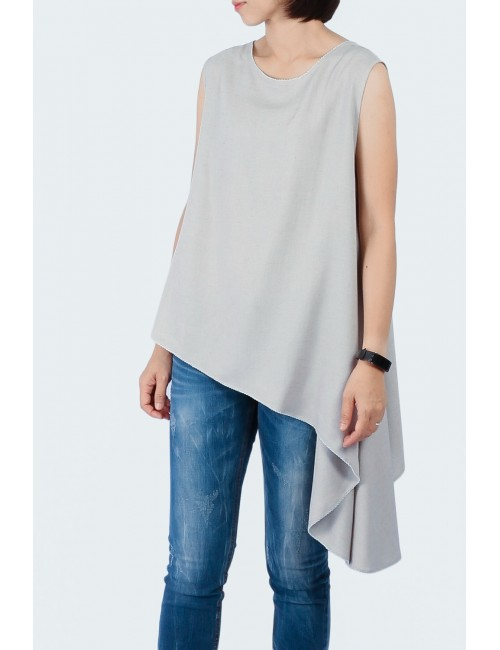 Vince Blouse, Grey