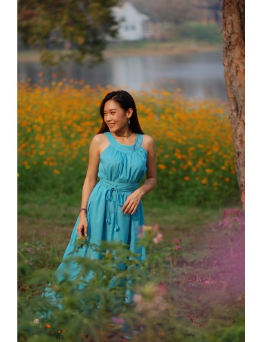 Nobella Maxi Dress, Turquoise