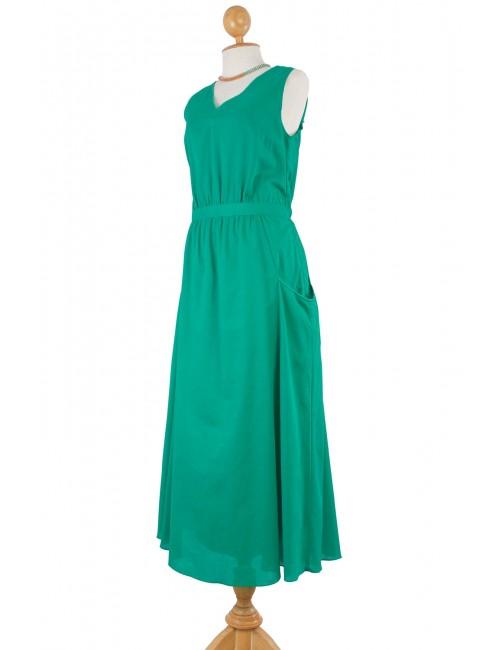 Holly Cotton Maxi, Green
