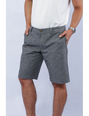 Day Off Linen Shorts, Black