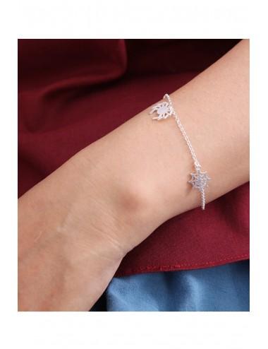 Spider Silver Bracelet
