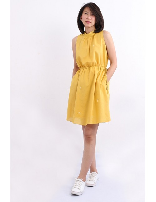 Fleurie Cotton Midi Dress,...