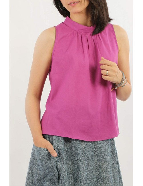 Fleur Mini Cotton Blouse,...