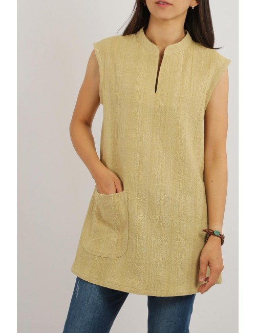 Dana Cotton Hemp Tunic,...