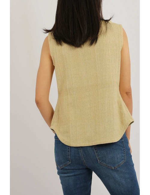 Maya Cotton Hemp Blouse,...