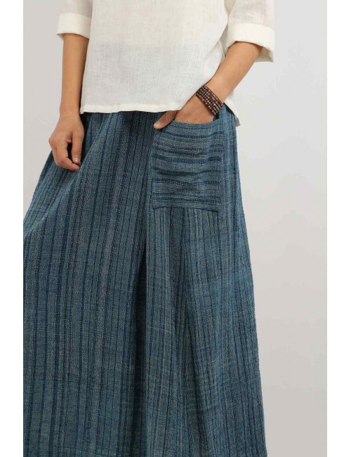 Lala Cotton Hemp Skirt,...