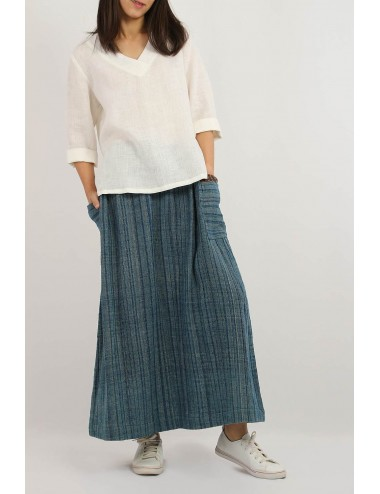 Lala Cotton Hemp Skirt,...