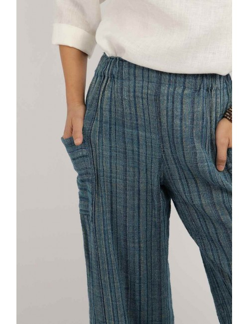 Amy Cotton Hemp Pants,...