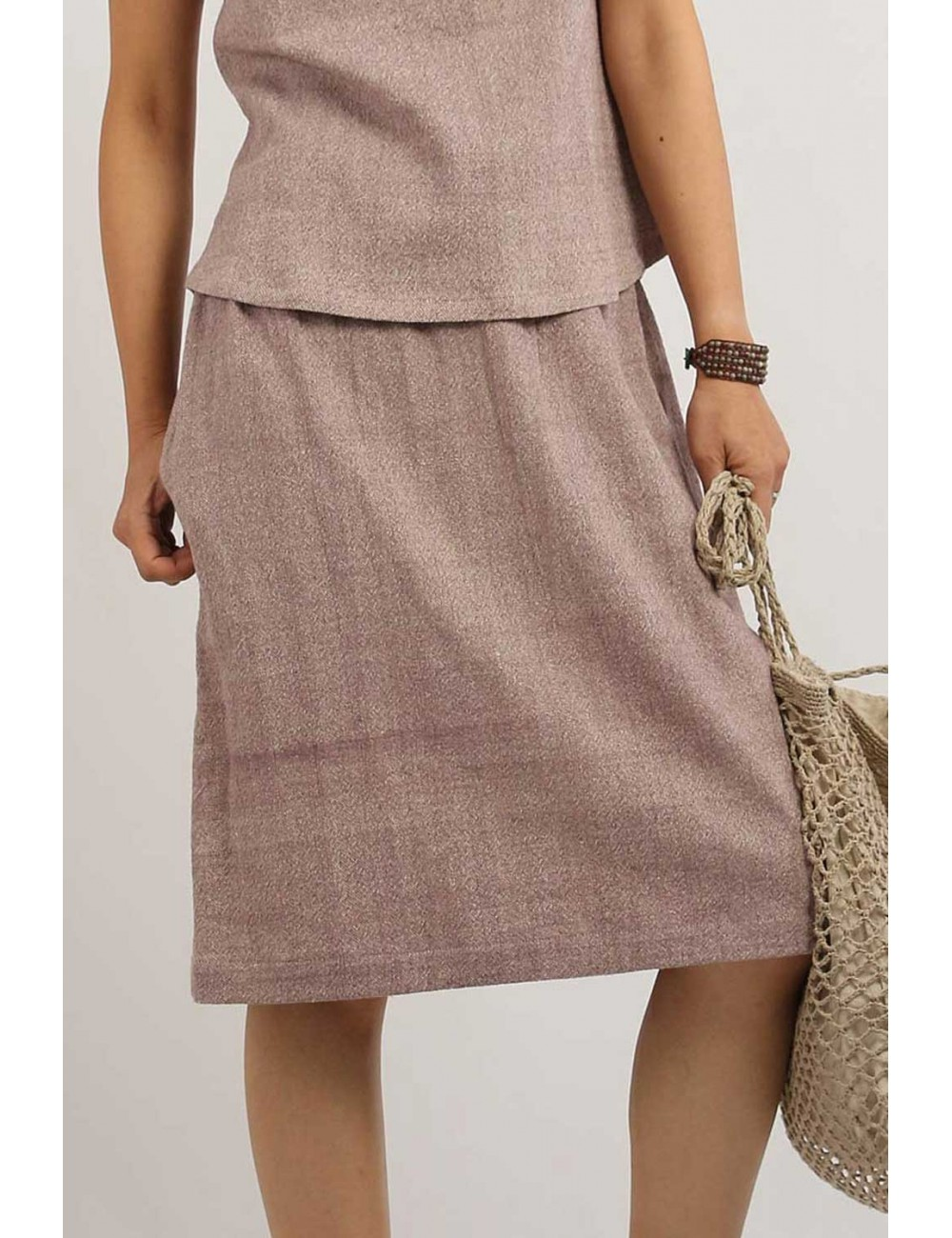 Anna Cotton Hemp Skirt,...
