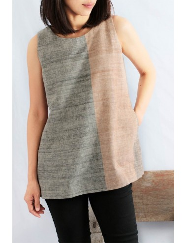 Aya Cotton Hand Spun Tunic,...