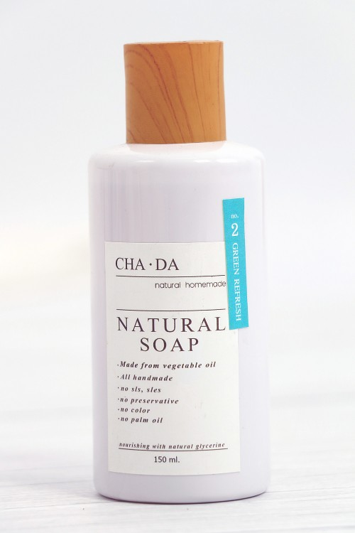 Natural Liquid Soap, Green...
