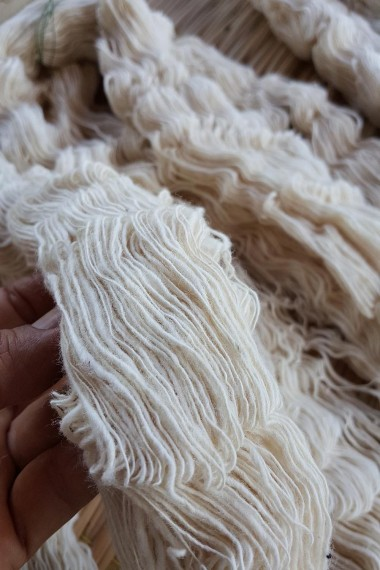 Handspun cotton yarn