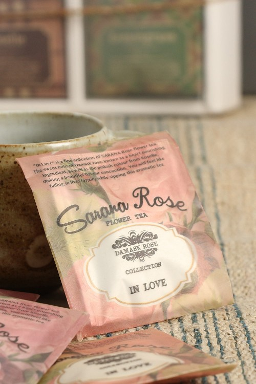 Damask Rose Flower Tea