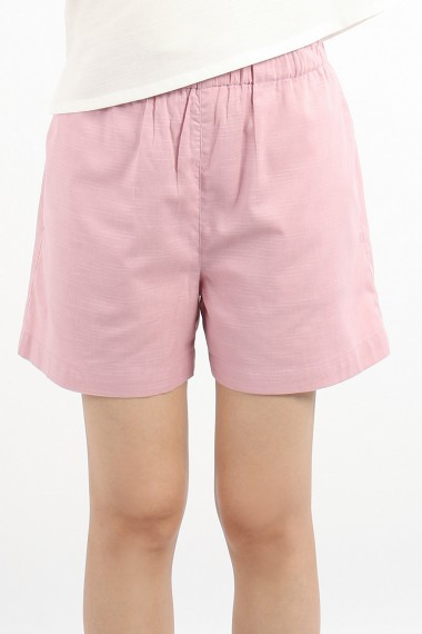 Zonya Cotton Shorts, Pink