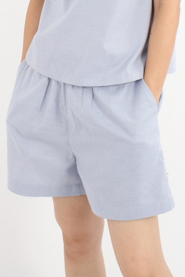 Zonya Cotton Shorts, Grey