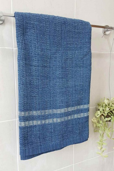 Bath Towel, Hand Woven And...