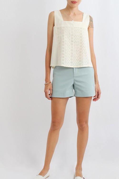 Ray Cotton Linen Shorts,...