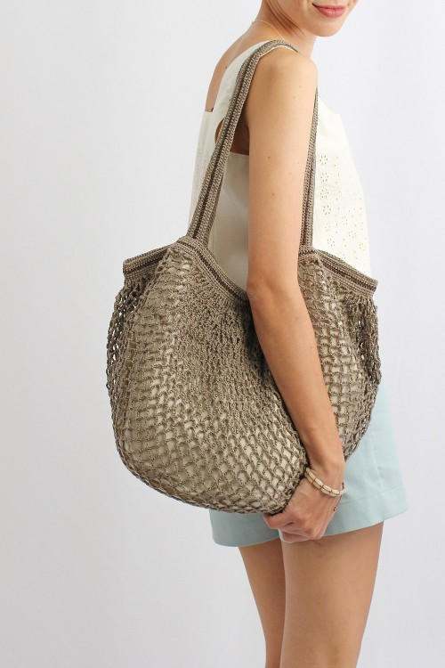 Lunar Shopping Bag, Grey