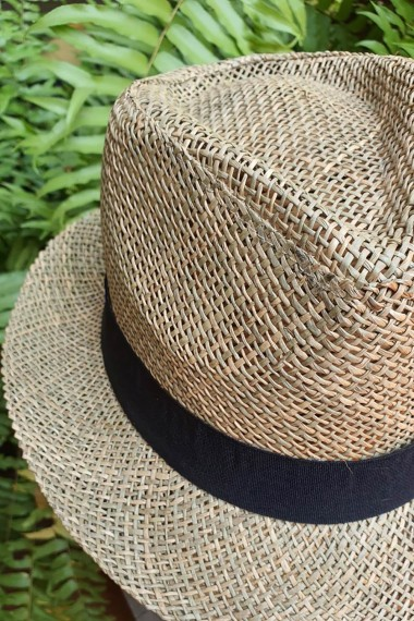 Unisex Natural Straw Hat