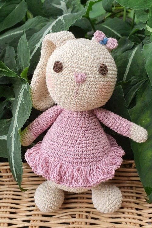 Natural Dyed Cotton Bunny...