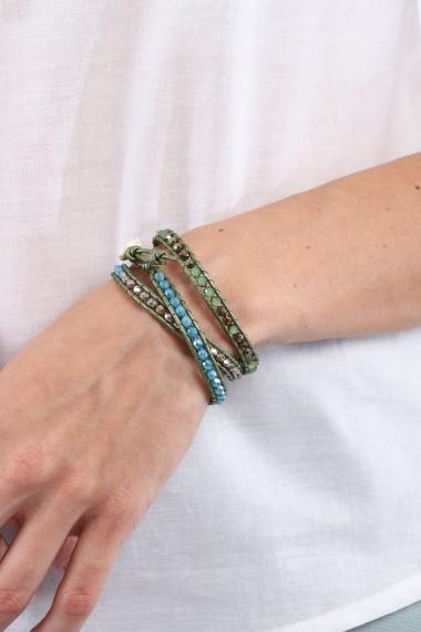 Fresh up Wrap Bracelet, Green