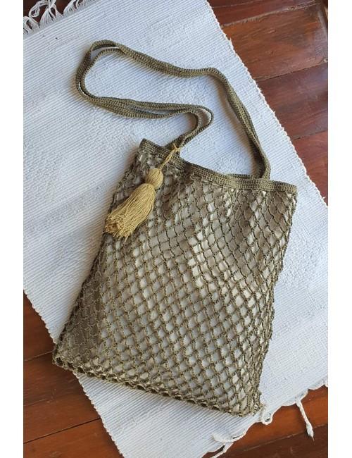 Net Tote Bag, Green, Molave