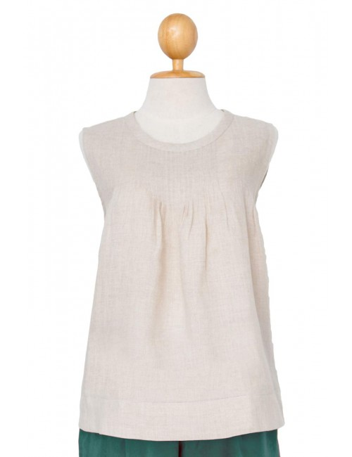 Sally Pintuck Sleeveless...